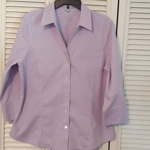 Foxcroft No Iron Fitted Button Down